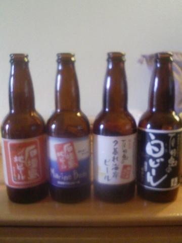 地ビール飲み比べ